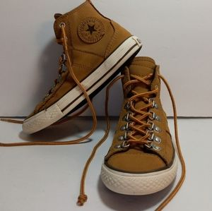 CONVERSE LEATHER SNEAKER BOOT